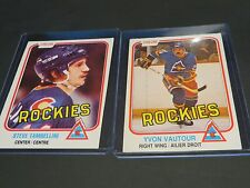 1980-81-82 O-PEE-CHEE- HOCKEY CARDS MIXED LOT OF 17 IN TOPLOADERS