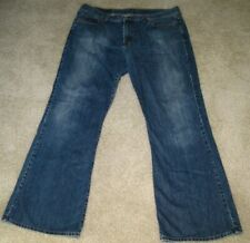 Lucky Brand Tripper Flare Jeans RARE size 36  Medium Blue Finish Low Rise Rocker