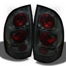 For Smoked 05-15 Tacoma Altezza Tail Lights Rear Brake Lamp Pair Set Light
