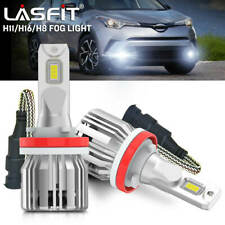Lasfit H16 H8 LED Fog Light Bulb Fit for Honda HR-V 2016-20 6000K Ultra White 2X