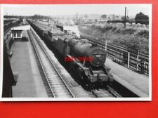PHOTO  LMS CLASS 8F LOCO NO 48604 AT TROWELL UP GOODS
