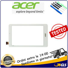 """ACER Iconia Tab 8 W w1-810 Bianco Digitalizzatore Touch Screen  8"""""""