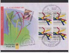 BRD-1997-Briefm.-Ausst.-Beleg-Frimaerker i Forum KOPENHAGEN-6-9-11-2001-Mi:1917