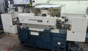 """MITSUBISHI R230 CNC UNIVERSAL CYLINDRICAL OD ANGLE GRINDER 13"""" Between Centers"""