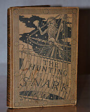THE HUNTING OF THE SNARK~1ST UK MACMILLAN 1876 EDITION~LEWIS CARROLL