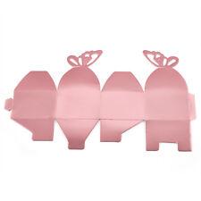 50 PZ BOMBONIERA FARFALLA scatole sposa feste di compleanno decorazione - da T