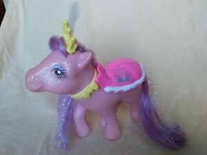My Little Pony g1 Princess Sparkle Gloria Euro UK Exclusive Lights Work! MLP htf