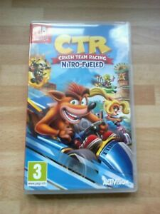 Crash Team Racing Nitro-Fueled Nintendo Switch CTR & FREE T-Shirt from my shop