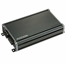 Kicker 46Cxa12001 Car Audio Class D Amp Mono 2400W Subwoofer Amplifier Cxa1200.1