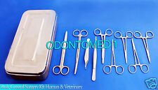 Basic General Surgery Kit Human & Veterinary Related Surgical Stitch Up Kit