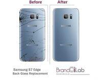 SAMSUNG S6/S6Edge/S6EdgePlus/S7/S7Edge/S8/S8Plus BACK GLASS REPLACEMENT REPAIR