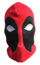 MARVEL COMICS DEADPOOL FACE SKI MASK BEANIE HAT KNIT CAP WINTER COSTUME COSPLAY