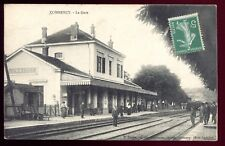 CPA COMMERCY ( Meuse ) la gare