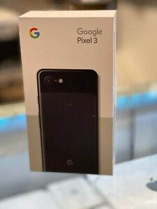 "Google Pixel 3 (128GB, 4GB) 5.5"" Just Black GSM+CDMA Factory Unlocked G013A"