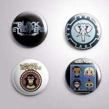 "4 The Black Eyed Peas - Pinbacks Badges Buttons 1"" 25mm"