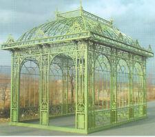 Orangerie Jugendstil Gartenhaus Gazebo Pavillon Gewächshaus OR002-1