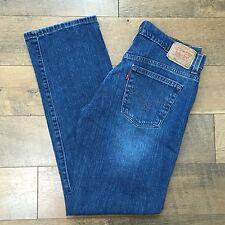 LEVIS 505 Nouveau Low Straight Womens Sz 8 Blue Jeans Great Looking Low Rise 8 M