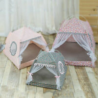 Summer Pet House Nest Spring&Summer Cat Puppy Removed Tent Pet Bed Shelter Dog