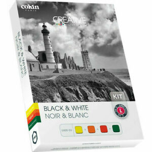Genuine Cokin U400-03 Black & White Kit incl. 4 Filter (Z001, Z002, Z003, Z004)