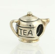 NEW Chamilia Bead Charm - Sterling Silver Tea Pot GA-38