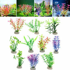 20pcs Artifical Grass Water Weeds Ornament Underwater Plant Fish Tank Decor