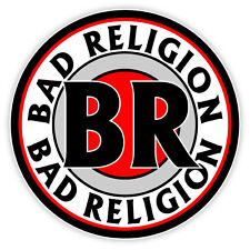 "Bad Religion BR sticker decal 4"" x 4"""