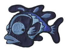 Patch écusson transfert patche Poisson patch broderie brodé