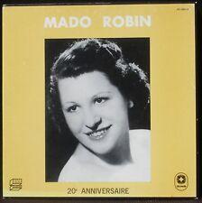 Mado Robin 20e anniversaire INA Discoreale 3 x LP & BX NM