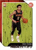 2018-19 NBA Hoops Basketball #250 Trae Young RC Atlanta Hawks Rookie Card