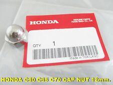 HONDA C50 C65 C70 C90 C100 12mm. Rear Shock CAP NUT Genuine Parts 12mm [mi3750]