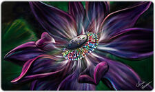 """Lotus Playmat (1+) 14"""" x 24"""" Ships in Tube Game Mouse Pad"""