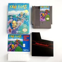 Kiwi Kraze (Nintendo Entertainment System, 1991) w/ Box/Manual/Sleeve Authentic