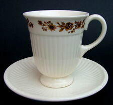 Wedgwood Edme Radcliffe NM921 Pattern Tall Coffee Cups & Saucers Look in VGC