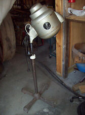Antique Steampunk Industrial Holliwell Standup Hair Drier 1960s Lighting