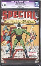 Special comics #1 (MLJ, 1941) CGC 7.0   Hangman origin
