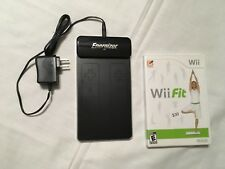 Energizer Nintendo Wii 2x Controller Remote Induction Charger and Video