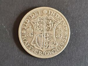 1931 Half Crown George V fair condition