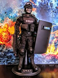1/6 Custom SWAT Police Special Forces Soldier Figure