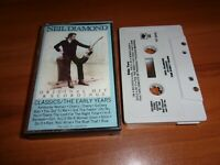 Classics: The Early Years by Neil Diamond (Cassette, 1983 Columbia (USA))