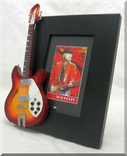 TOM PETTY Miniature Guitar Frame Heartbreakers
