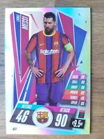 MATCH ATTAX 2020/21 VERY RARE MESSI OVERSIZE CARD OS7