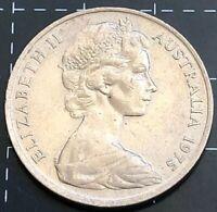 1975 AUSTRALIAN 20 CENT COIN - EF