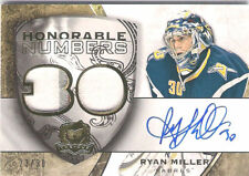 RYAN MILLER 08-09 THE CUP DUAL 3 COLOR PATCH AUTO SP/30