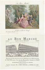 GRANDE CHROMO AU BON MARCHE - LE JEU DE PIED DE BOEUF