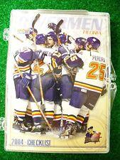 '03-04 ECHL AHL Peoria Rivermen Team Hockey Card Set St Louis Blues Alaska Aces