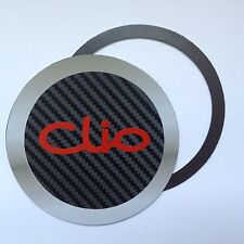 Magnetic Tax disc holder fits any renault clio cup gt DYNAMIQUE AUTHENTIQUE red