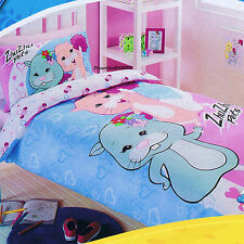 Zhu Zhu Pets - Fuzzy Friends - Double/US Full Bed Quilt Doona Duvet Cover Set