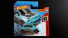HOT WHEELS Fiat 500 türkis 1:64 Mattel RZHTF 2/5 #2 - NEU - OVP
