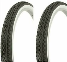 "2-20X2.125/"" BLACK GOODYEAR LOWRIDER SCHWINN S2 BIKE BICYCLE TIRES 260957"