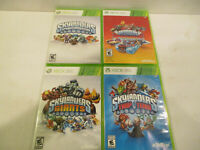 Skylanders Swap Force,Giants, Trap Team , Super Chargers  for Xbox 360 VG Cond